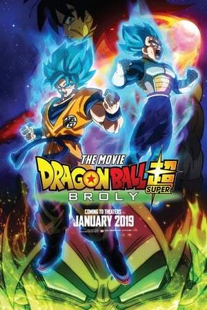 Poster Movie Dragon Ball Super: Broly 2018